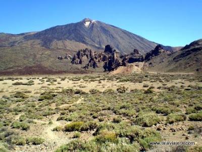 Llano Ucanca Teide, Tenerife