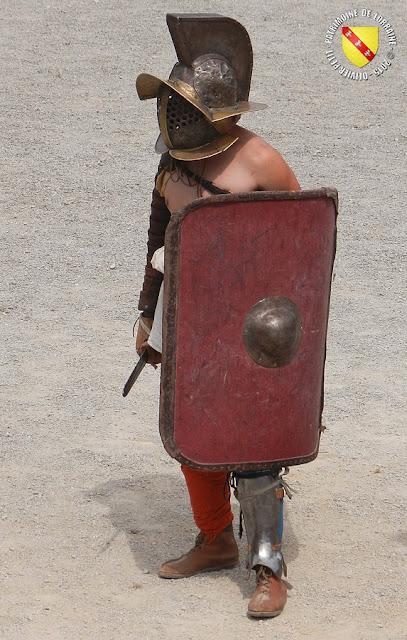 GRAND (88) - Les gladiateurs dans l'arène ! - Mirmillon