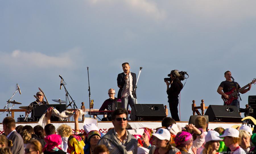Николай Расторгуев на праздновании Тысячелетия единения мордовского народа с народами России