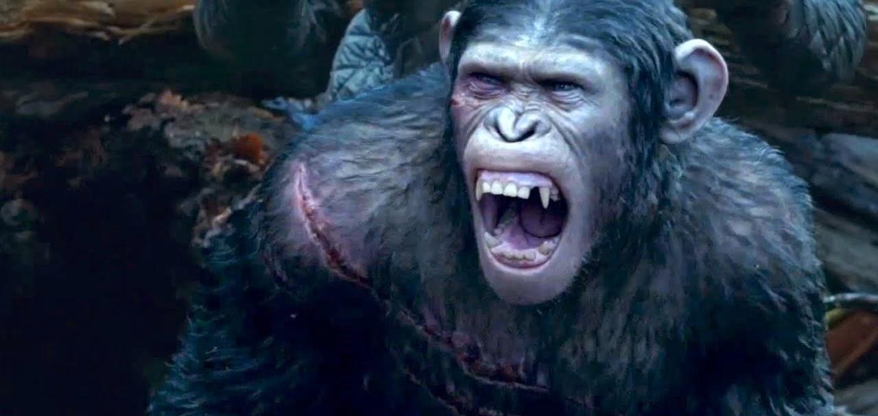 A Guerra já começou no comercial inédito de Planeta dos Macacos: O Confronto, com Andy Serkis e Gary Oldman