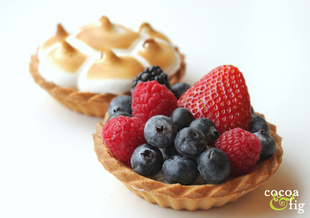 Fresh Fruit Tart by Minneapolis Bakery Cocoa & Fig