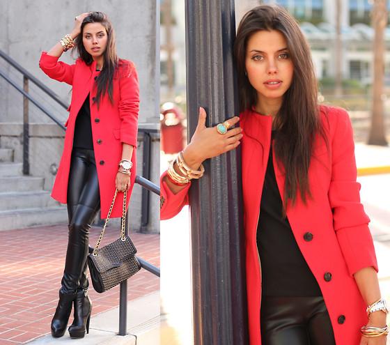 Что одеть с пальто девушке