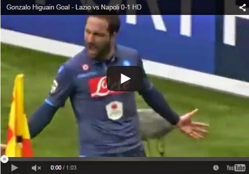 Highlights : Lazio 0-1 Napoli