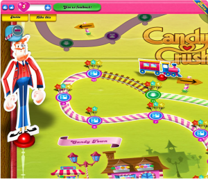 series to the match-3 genre today on Facebook with Candy Crush Saga