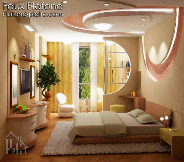 Création faux plafond moderne 2015