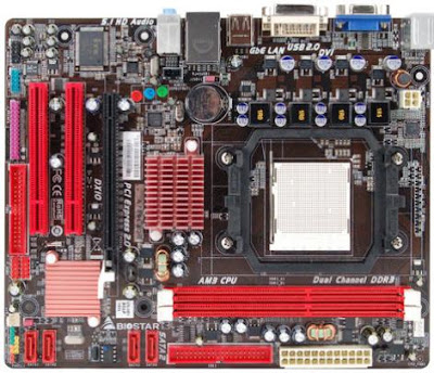 Biostar A780L3G - AMD AM3 Socket Motherboard
