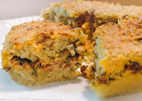 Torta de Carne de Soja e Escarola (vegana)