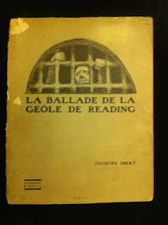 Iacques Ibert La ballade de la geole de Reading