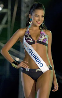 Miss Colombia Contestants, Quindio departmen Contestants, Estefania Diaz Granados