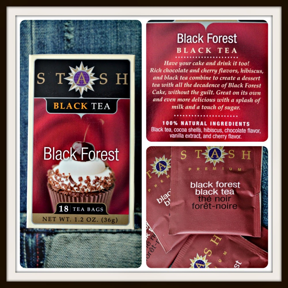 Stash Tea, Black Tea, Black Forest, 18 Tea Bags, 1.2 oz (36 g)