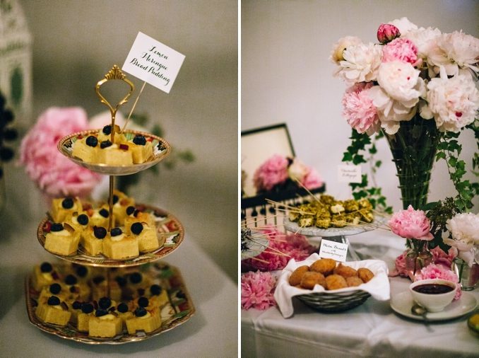 beautiful dessert table details