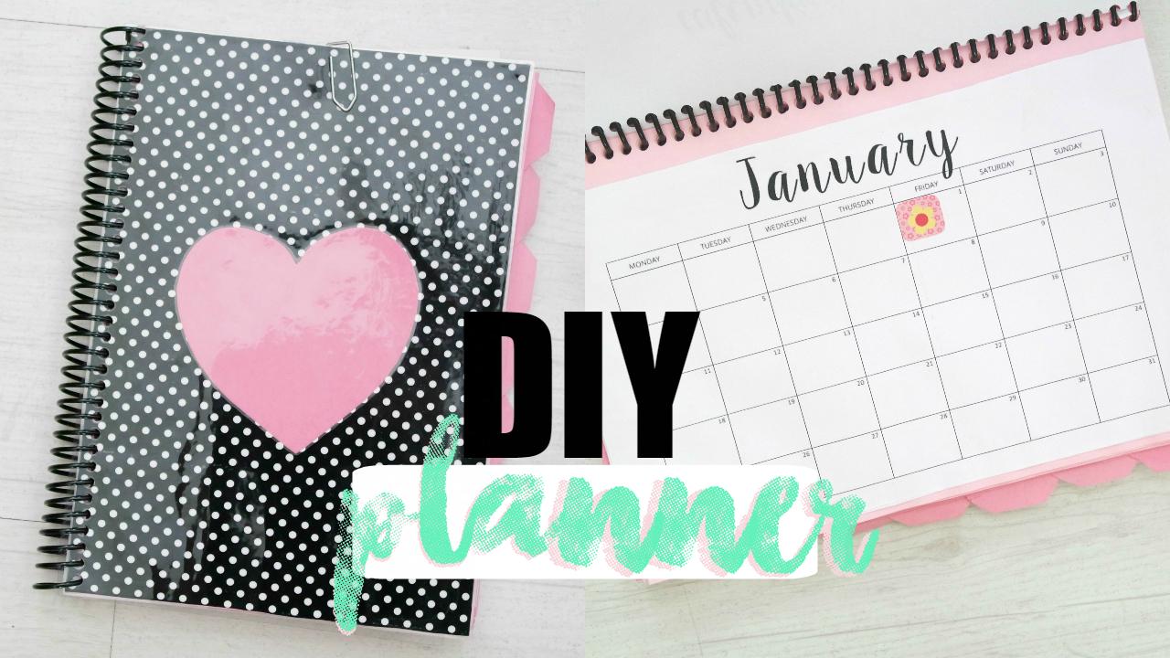 DIY planner 2016