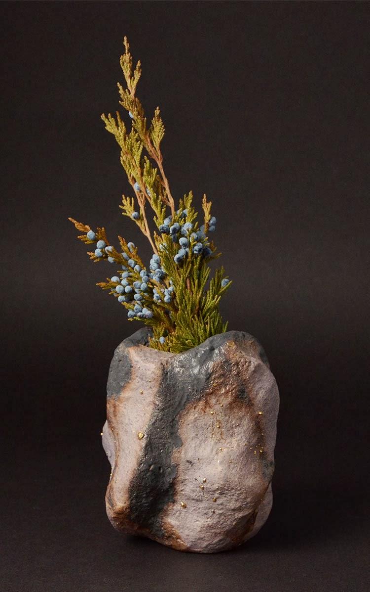 vase, inayoshi osamu, japanese potter
