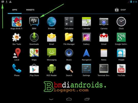 Demikian tutorial cara instal BBM untuk Android secara manual yang ...