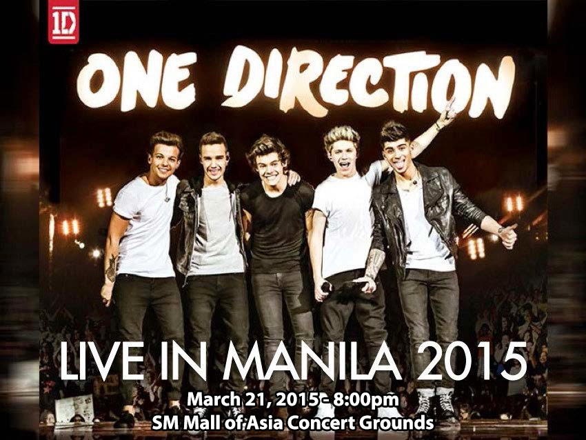 P200K bond from One Direction before their performance - Bureau of Immigration