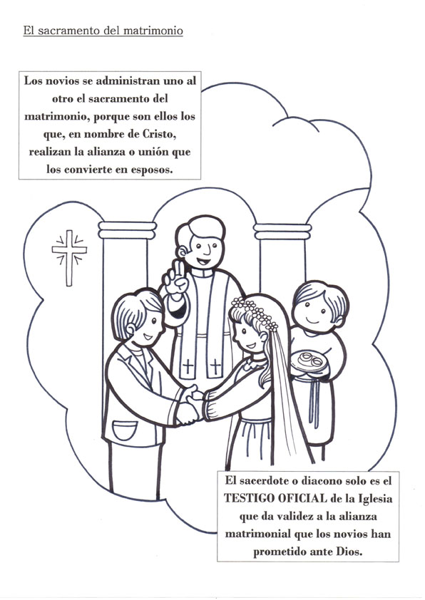 Matrimonio Catolico Para Dibujar : El rincón de las melli sacramento del matrimonio