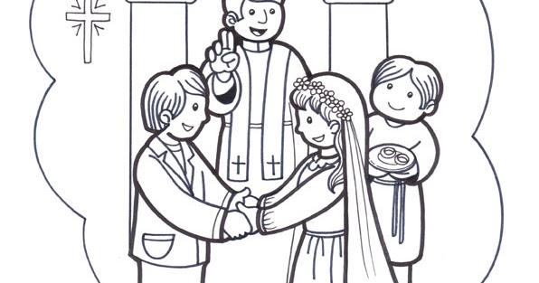 Matrimonio Catolico Dibujo : El rincón de las melli sacramento del matrimonio