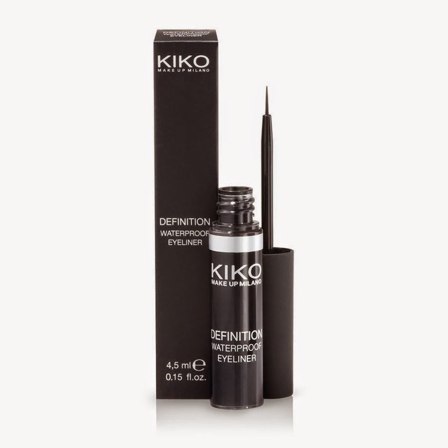 KIKO- Definition Waterproof Eyeliner - Review & Swatches - Wished ...