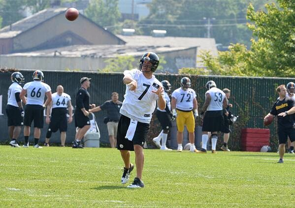 bBen roethlisberger steelers quarterbacks
