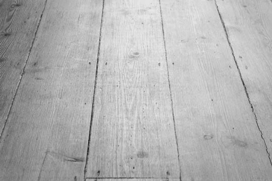 white washed floorboards
