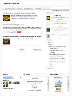 desain website, membuat website, contoh website, contoh blog