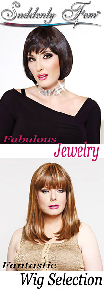 Huge Selection of Wigs and Jewelry