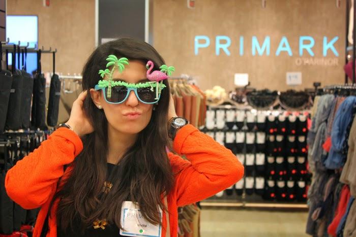 fashion blog, fashion blogger, primark, opening, paris, o'parinor