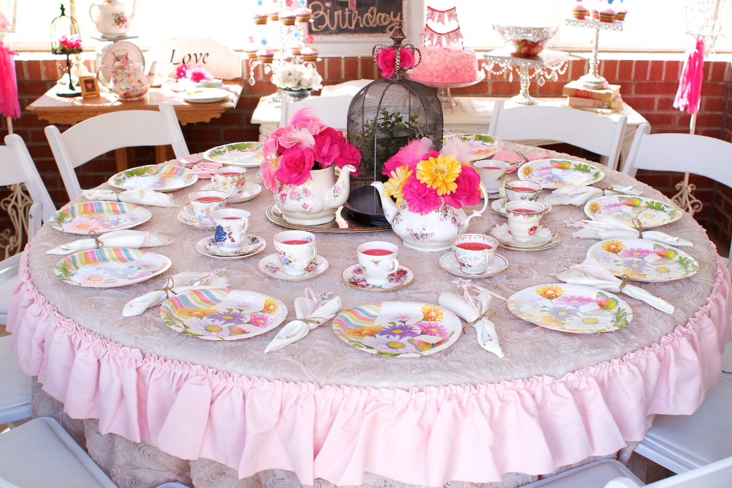 tea party Playing tea party is a way for children to work on important social skills, like thinking about the needs of others and taking turns they also learn about getting along with friends, as children imitate grownup behavior with manners and caring conversation.