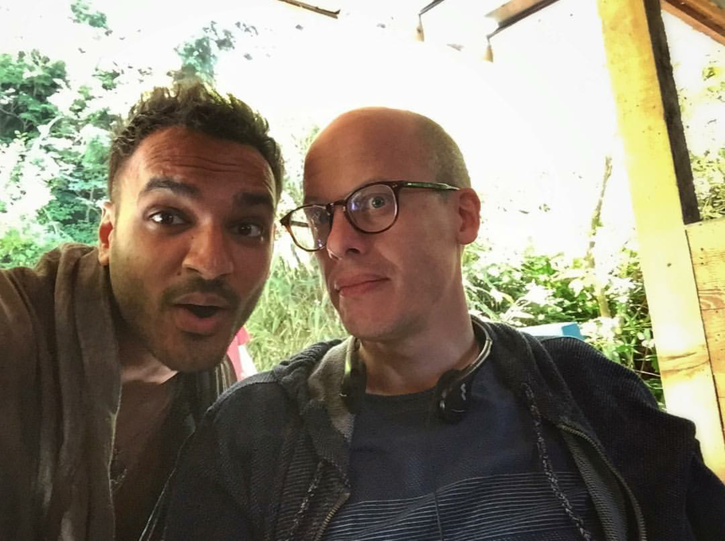 Argun Gupta Behind the Scenes of The Magicians Season 2