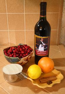 Guy Buffet Cabernet Sauvignon, Cranberries, Orange, Lemon, Cinnamon, Sugar & Allspice