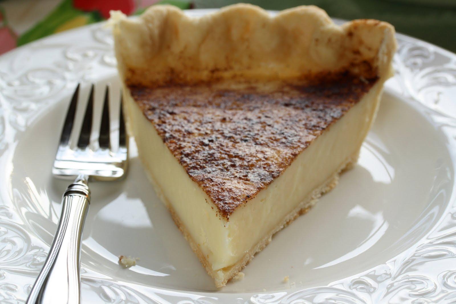 No. 34 - Hoosier Sugar Cream Pie - Saving Room for Dessert