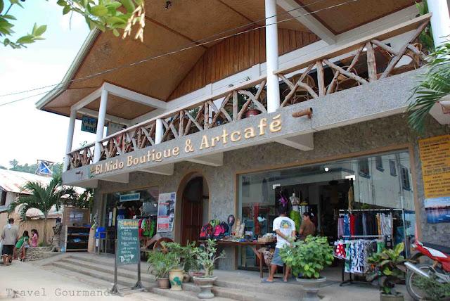 El Nido Boutique & Art Cafe   Island Hopping in Palawan