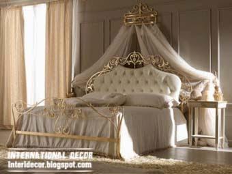 Queen Bedroom Luxury Design Royal Copper Bed Design