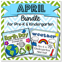 Earth Day weather preschool pre-k kindergarten homeschool teachers pay