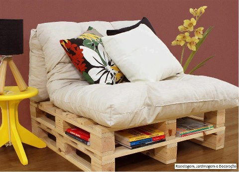 Inspira es do ser reciclar reciclar reciclar com for Sofa reciclado