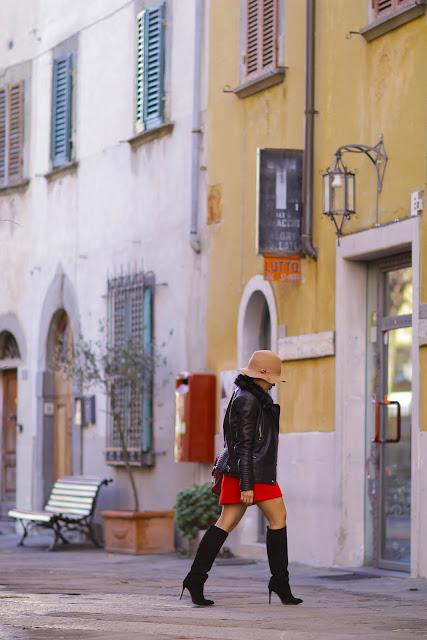 Castellina in Chianti, styletto boots, Mango