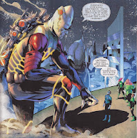 Relic arrives on Oa and reveals the tragic fate of his universe.