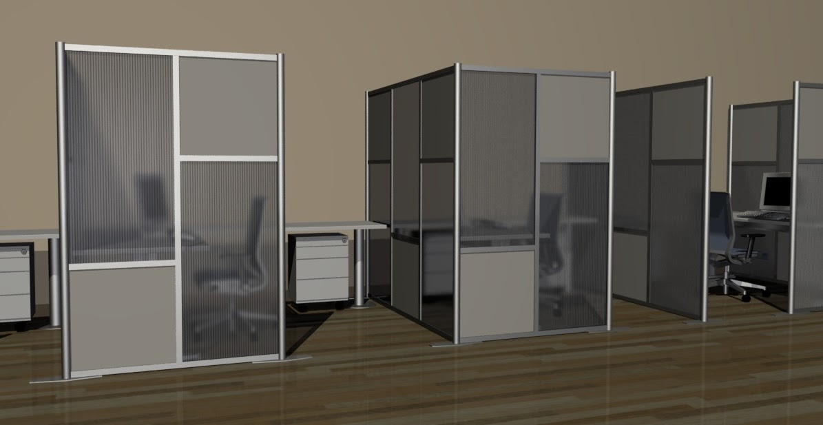 Modular Office Partitions ~ Idivide modern room divider walls new modular