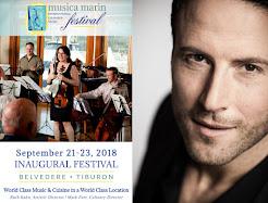 Musica Marin Festival featuring Marco Vassalli Sept 21-23