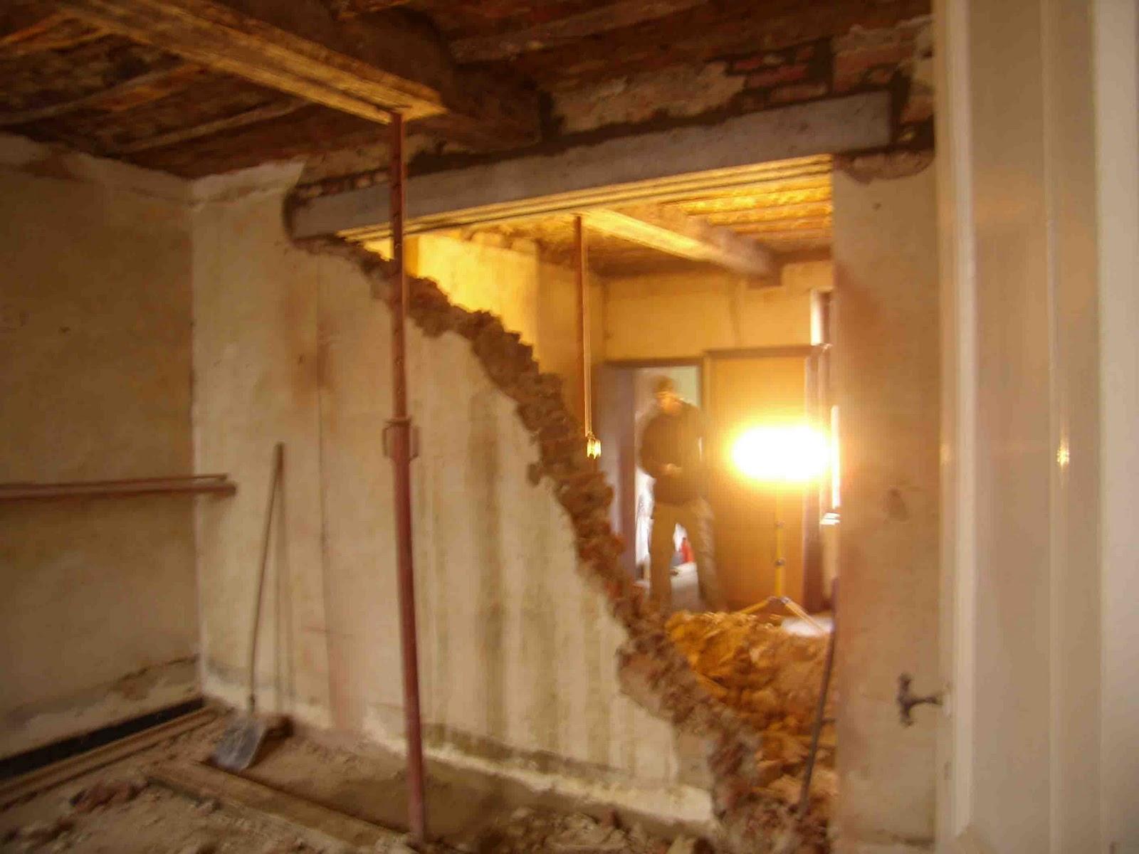 Les petits gravats f vrier 2011 for Maison sans mur porteur