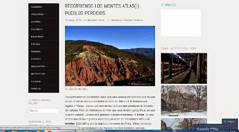 Montes del Atlas