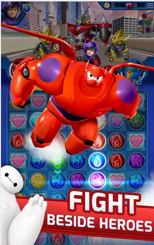 Big Hero 6 Bot Fight Android Gameplay