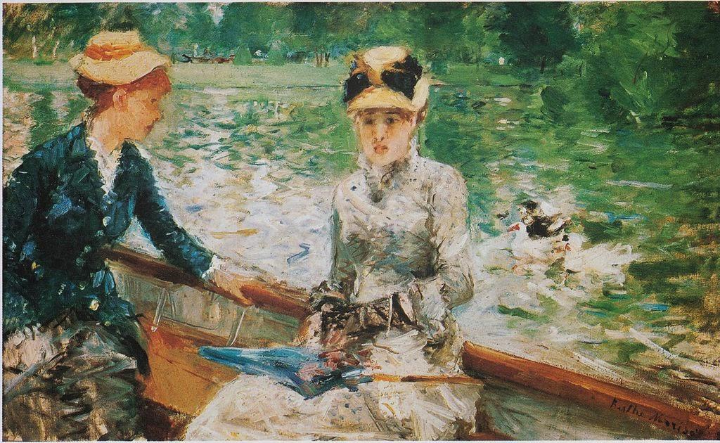 Pintura impresionista Berthe Morisot