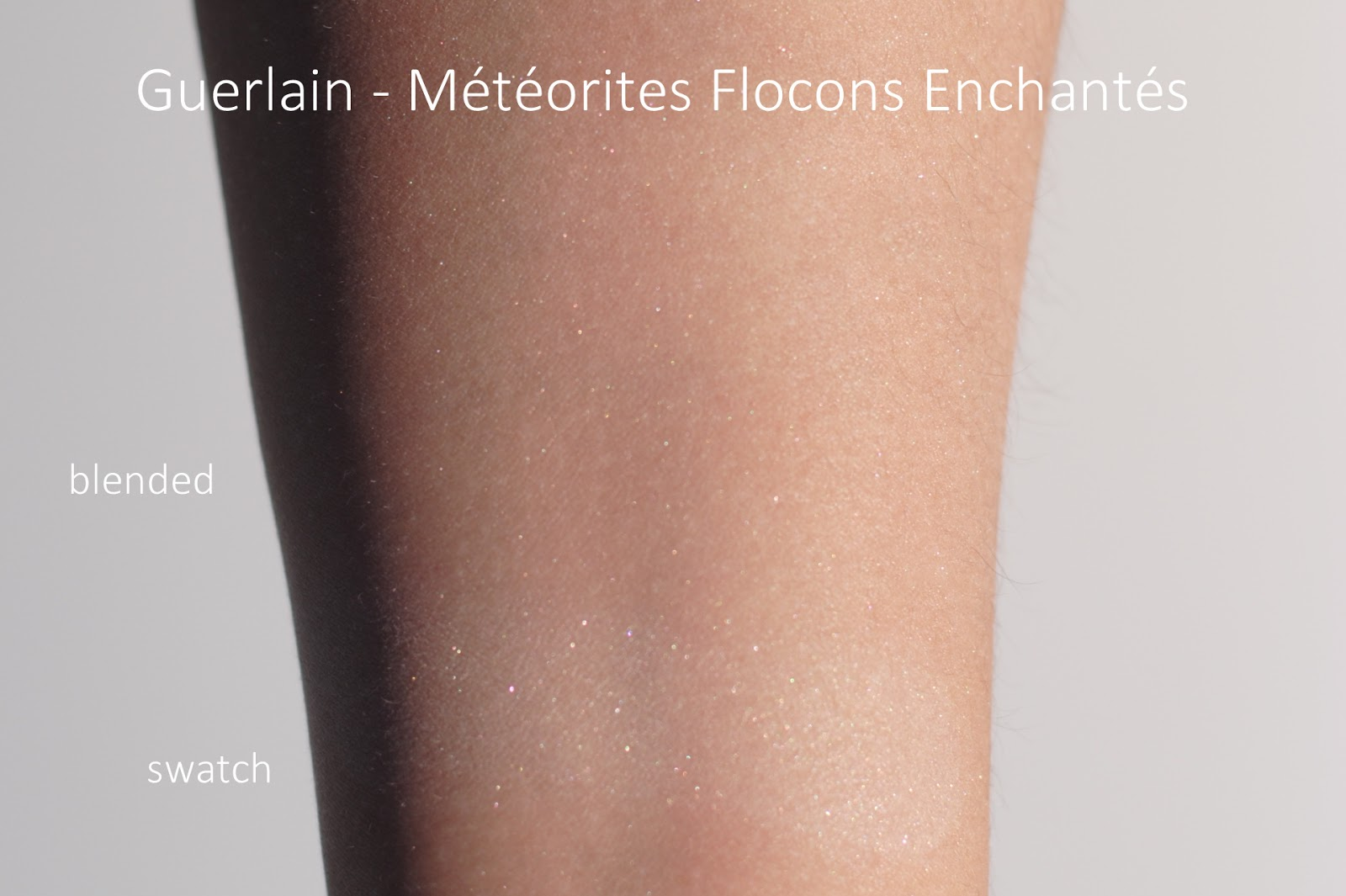 guerlain neiges merveilles review meteorites flocons enchantes swatches