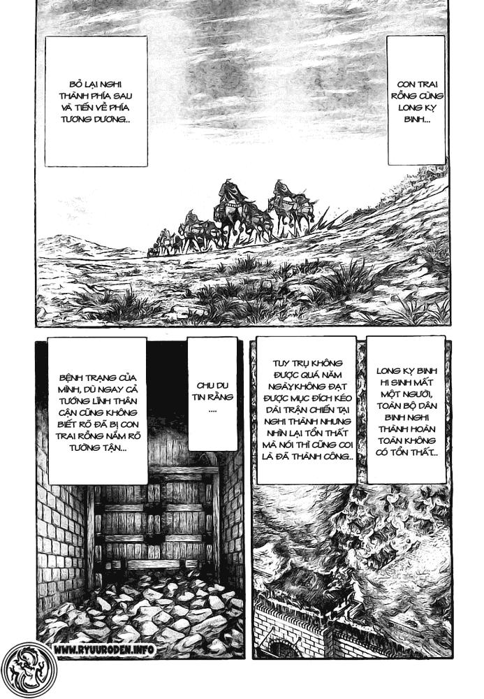 Chú Bé Rồng - Ryuuroden chap 181 - Trang 25