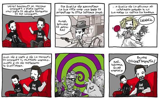 Il giovane Lovecraft, anteprima