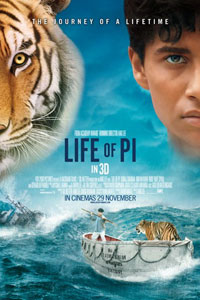 Poster original de La vida de Pi