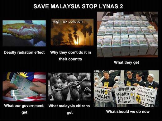 SAVE MALAYSIA STOP LYNAS