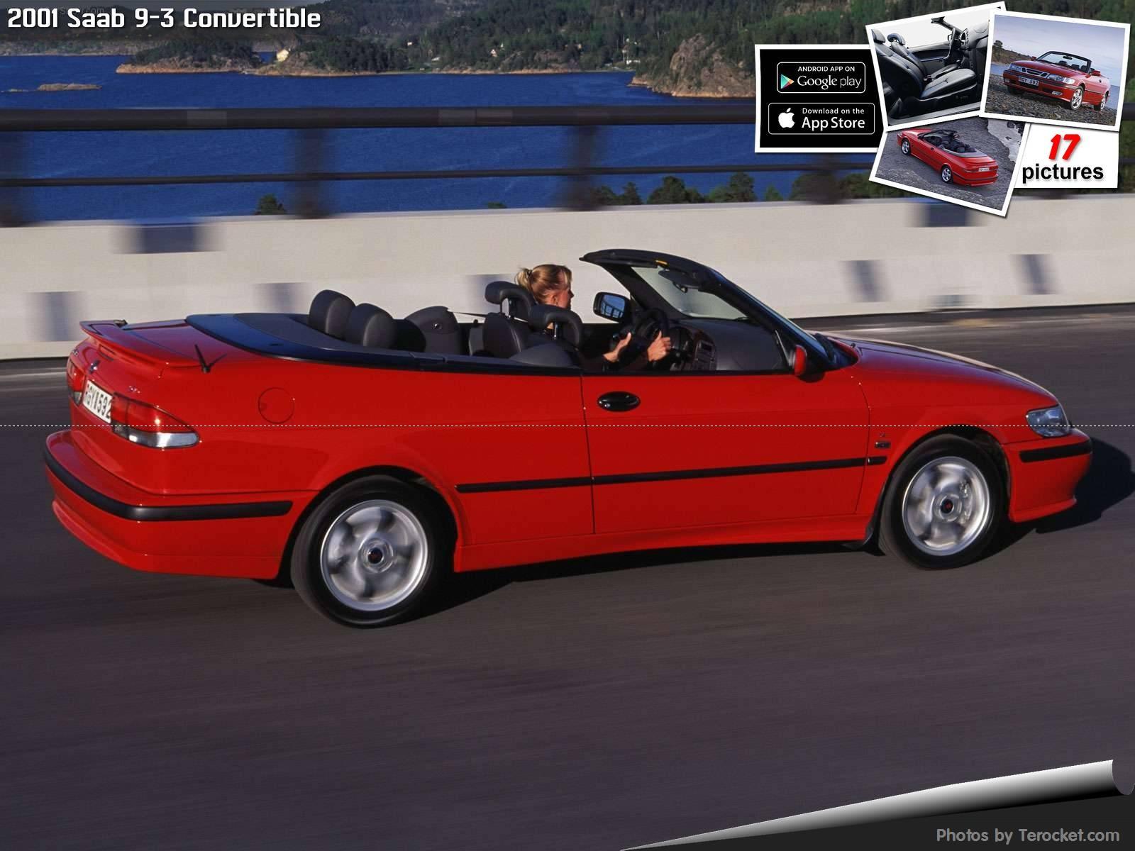 Hình ảnh xe ô tô Saab 9-3 Convertible 2001 & nội ngoại thất