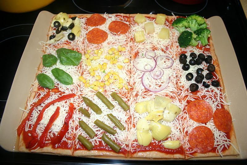 Great Scott: WHAT'S FOR DINNER? QUILT PIZZA